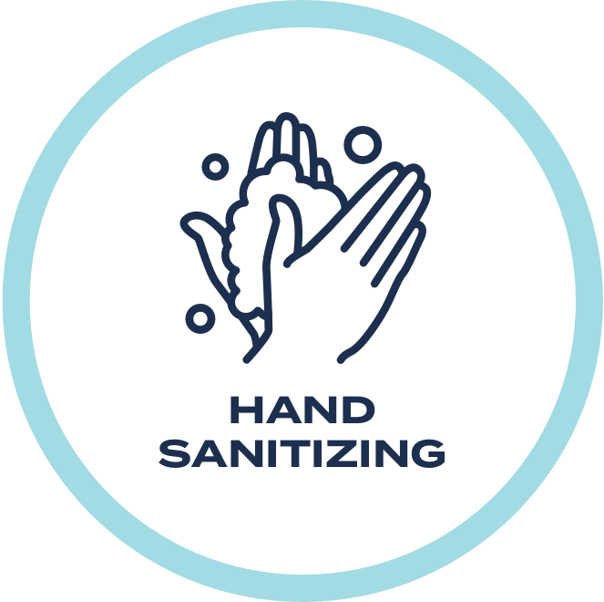 Please wash hands frequently and thoroughly with soap and water, and take advantage of our sanitation stations as well.